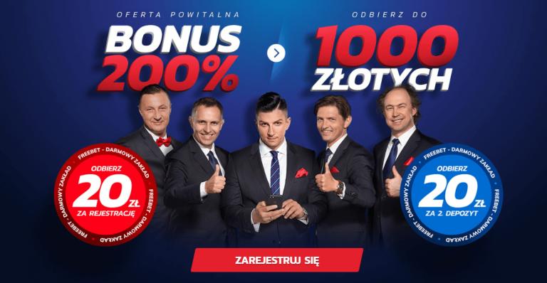 20 PLN za rejestrację w lutym od Etoto + DODATKI