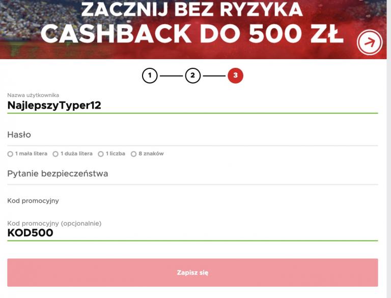 Darmowy bonus powitalny w BetClic! Cashback 500 PLN!